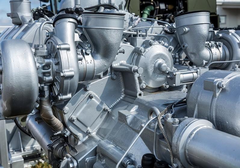 Układ hydrauliczny maszyny budowlanej